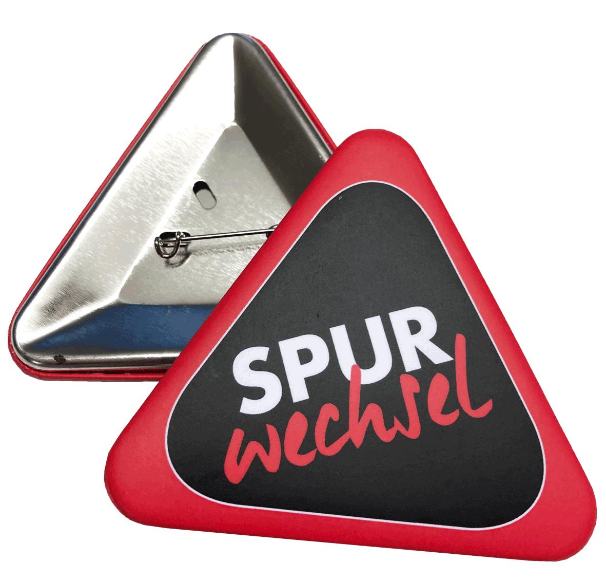 Spurwechsel München Button